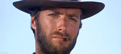 Clint Eastwood Nodding
