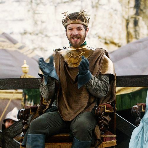 Renly Clapping (Game of Thrones)