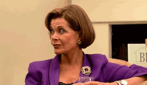 Eyeing  Up (Lucille, Arrested Development)