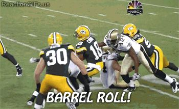 Barrel Roll! (Green Bay Packers)