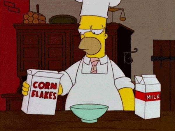 Cereal Fail (Homer Simpson)
