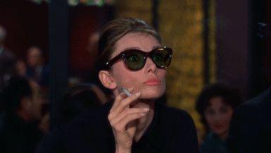 Gracious. (Audrey Hepburn)
