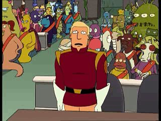 Sad Zapp Brannigan (Futurama)