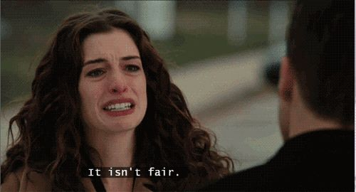 It isn't fair. (Love & Other Drugs)